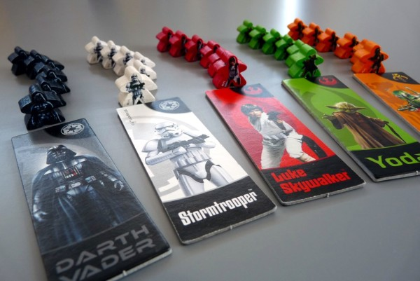 Carcassonne: STAR WARS - gracze